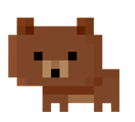 image brown bear png pixel people wiki fandom powered by wikia