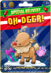 Special Delivery Oh Deer
