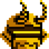 Gold Samurai Helmet