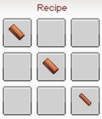 Sword wood recipe