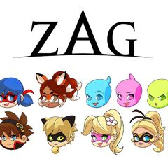 Upcoming ZAG text icons.