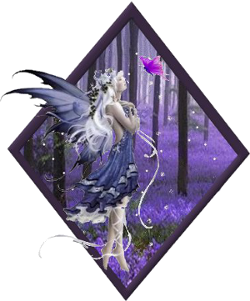 Purple fairy for teamcullen