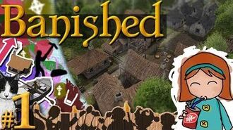 Banished 1 - Surviving Very Hard First Year Tutorial (17 Pop)