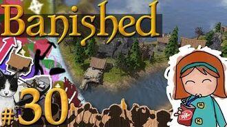 Banished 30 - Optimize Fishing (194 Pop)