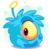 Blue Alien Puffle