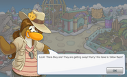 Paige Puffle Party Dialogue 4