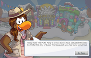 Paige Puffle Party Dialogue 1