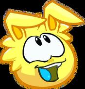 Yellow Bunny Puffle