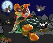 Halloweenplayercard