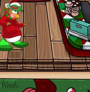 Noahs Christmas Hot Cocoa Background