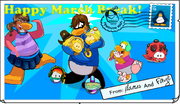 March Break Card