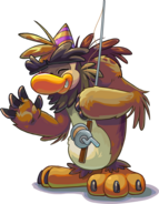 Puffle Party 2015 Sasquatch with Fishing Pole