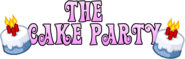 The Cake Party Logo