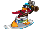 Surfing Penguin New Style
