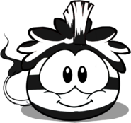 Zebra Puffle In-Game