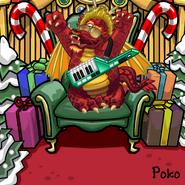 Pokos Santa Scarer Giveaway