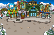 Winter Party Melted plaza