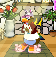 New Puffle Party Playercard