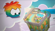 Rainbow puffle Revealed