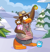 Paige Puffle Party 2016 Playercard