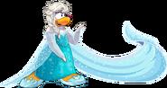 Elsa Penguin Login Screen