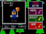 Brow boy