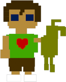 Child with Springtrap doll