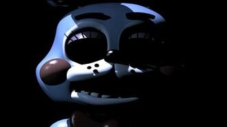 Eyeless Toy Bonnie EASTER EGG Five Night's at Freddy's 2