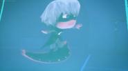 Luna having trouble flying