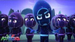 Team Night Ninja PJ Masks Shorts Disney Junior