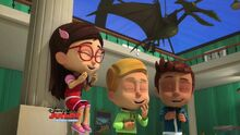 GATROAP 5-Connor, Greg and Amaya laugh