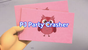 PJ Party Crashers title card