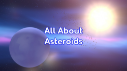 All About Asteroids title card