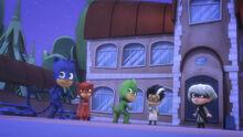 Babies Catboy, Owlette, Gekko, Romeo, and Luna Girl