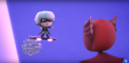 Luna reminding Owlette that she's a villain.