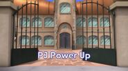 PJ Power Up Title Board