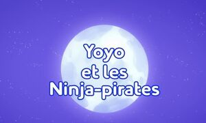 Pirates Ahoy! Title Card (French)