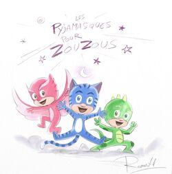 Les Pyjamasques pour Zouzous