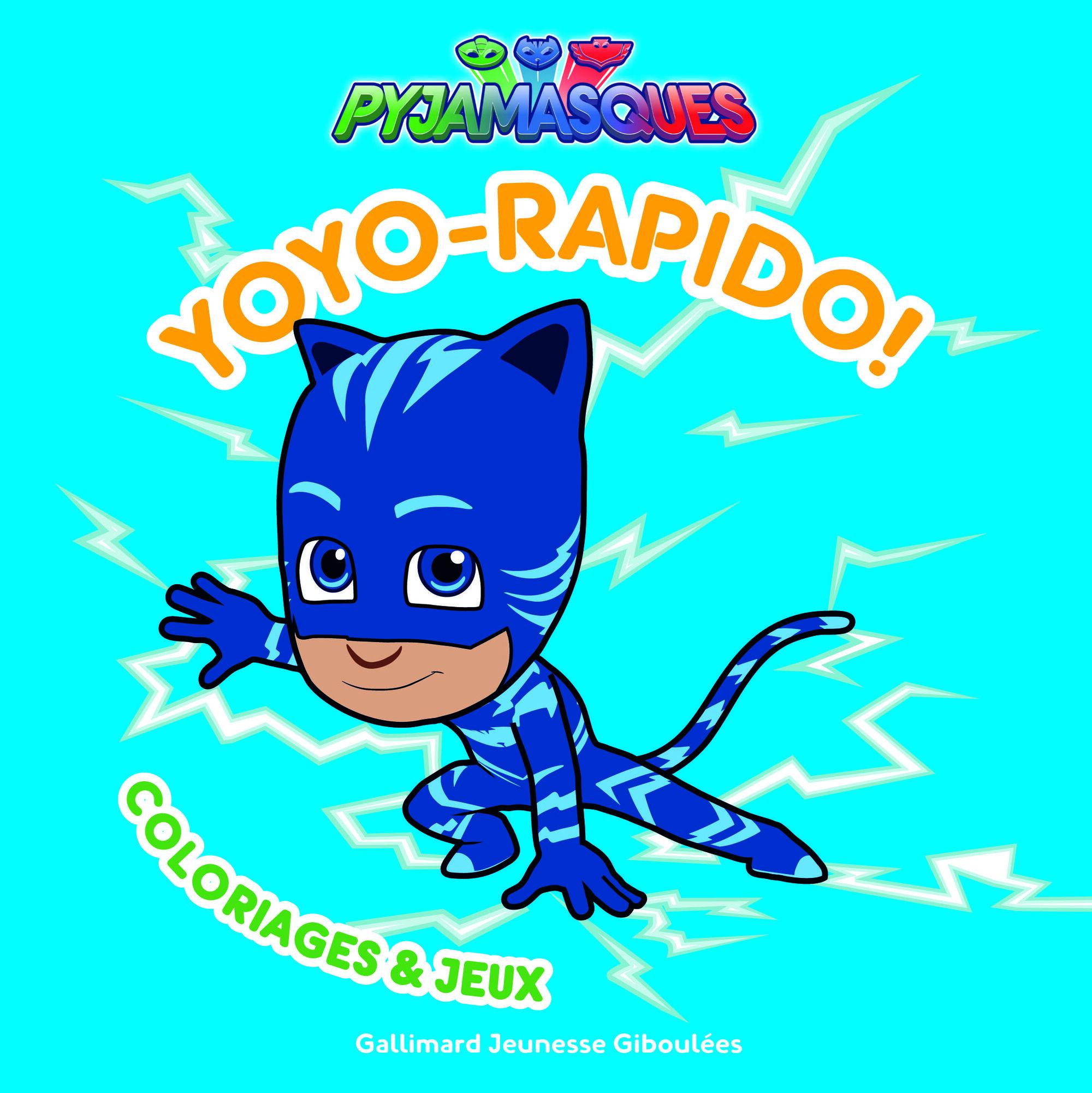Yoyo Rapido Coloriages Jeux Pj Masks Wiki Fandom Powered By Wikia