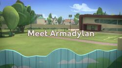 Meet Armadylan title card