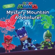 Mystery Mountain Adventure Cover Art