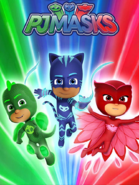 PJ Masks Season 2 Promotional Poster 4