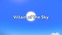 Villain of the Sky title card