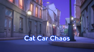 Cat Car Chaos