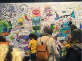 Les Pyjamasques coloring wall