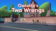 Owlette's Two Wrongs