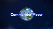 Commander Meow title cards