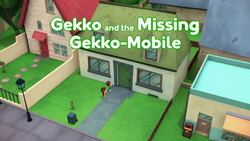 Gekko and the Missing Gekko-Mobile Card