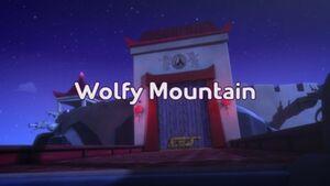 Wolfy Mountain title card