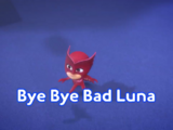 Bye Bye Bad Luna